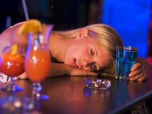 Симптомы отравления алкоголем