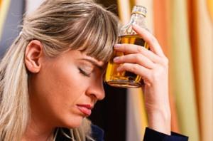 Вред алкоголя для женщины