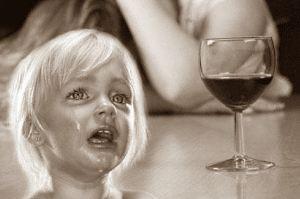 Женский алкоголизм и дети
