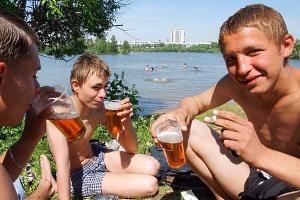 Пивной алкоголизм и подростки